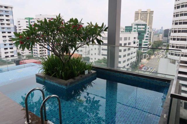 Jacuzzi pools Mercure Bugis Singapore