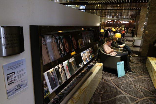 Inside Changi Airport SilverKris Lounge