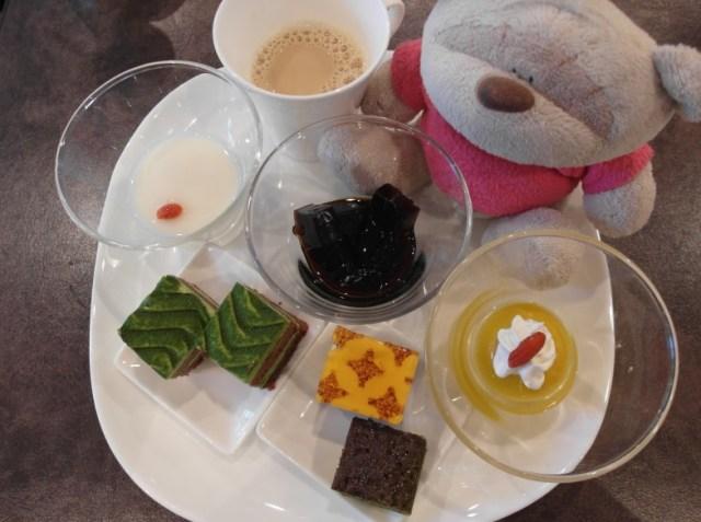 Dessert spread at Konansou Fuji Kawaguchiko Buffet Breakfast