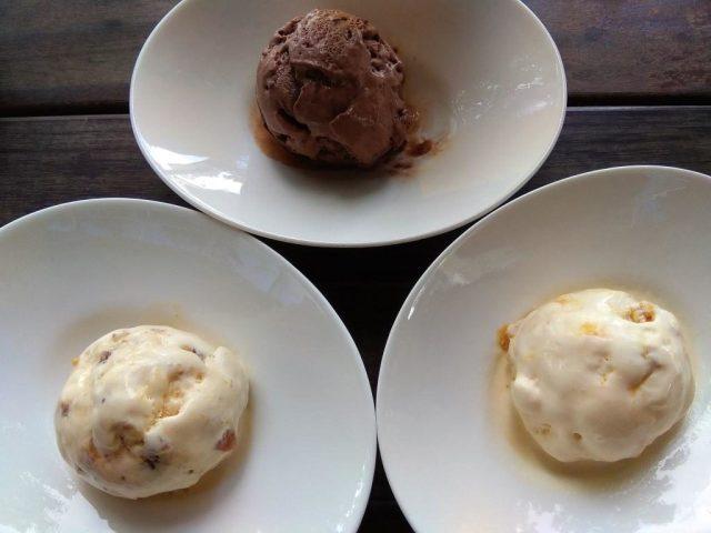 The Pelican Sunday Brunch Desserts Review: Artisanal Ice Cream