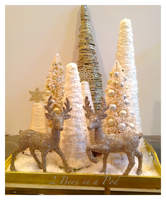Diy Yarn Christmas Tree