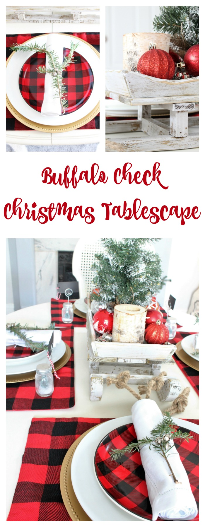 Make Christmas Centerpiece Your Own