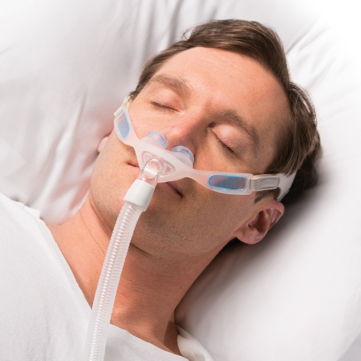 philips respironics nuance fabric or nuance pro gel nasal pillow cpap bipap mask with headgear fitpack s m l