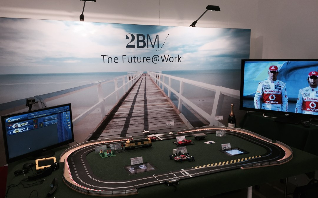 2BM delivering The Future@Work at the SAP Innovation Forum 2015