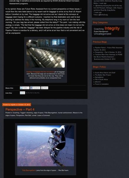 Reignite WordPress Blog