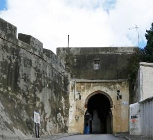 Entrance gate to the medina