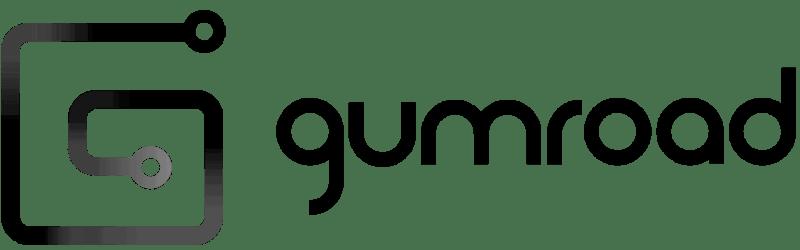 Gumroad logo dark