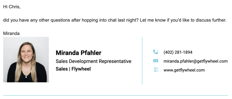 Live chat flywheel