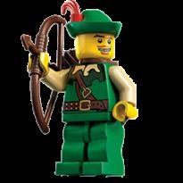Robin Hood Lego Archer-256
