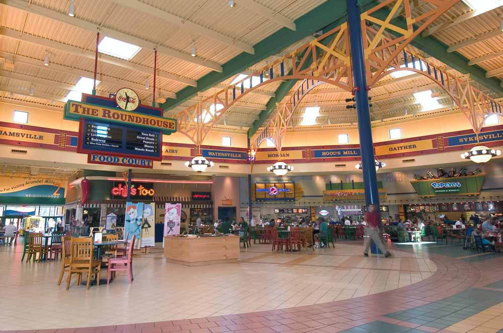 Arundel Mills Mall Directory Map