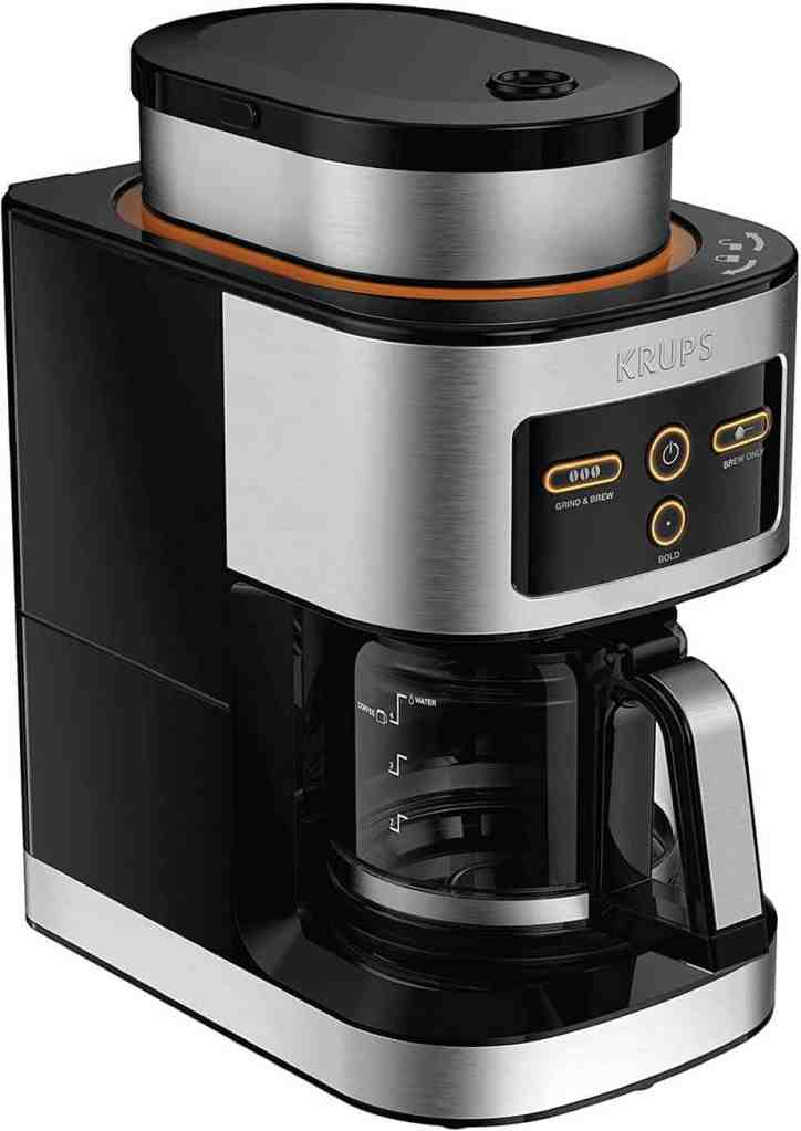 KRUPS KM550D50 Personal Café Grind Drip Coffee Maker