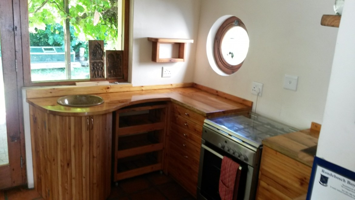 reclaimed oregon pine cape town kitchen 1