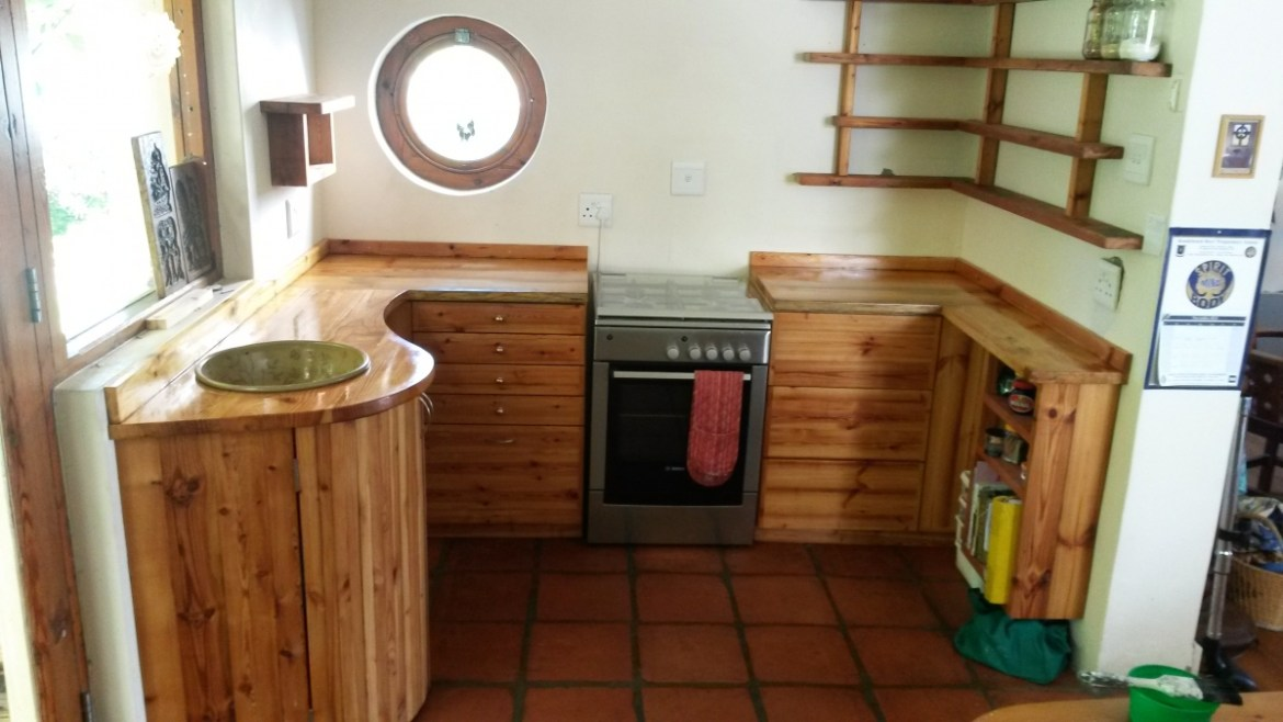 reclaimed oregon pine cape town kitchen 4