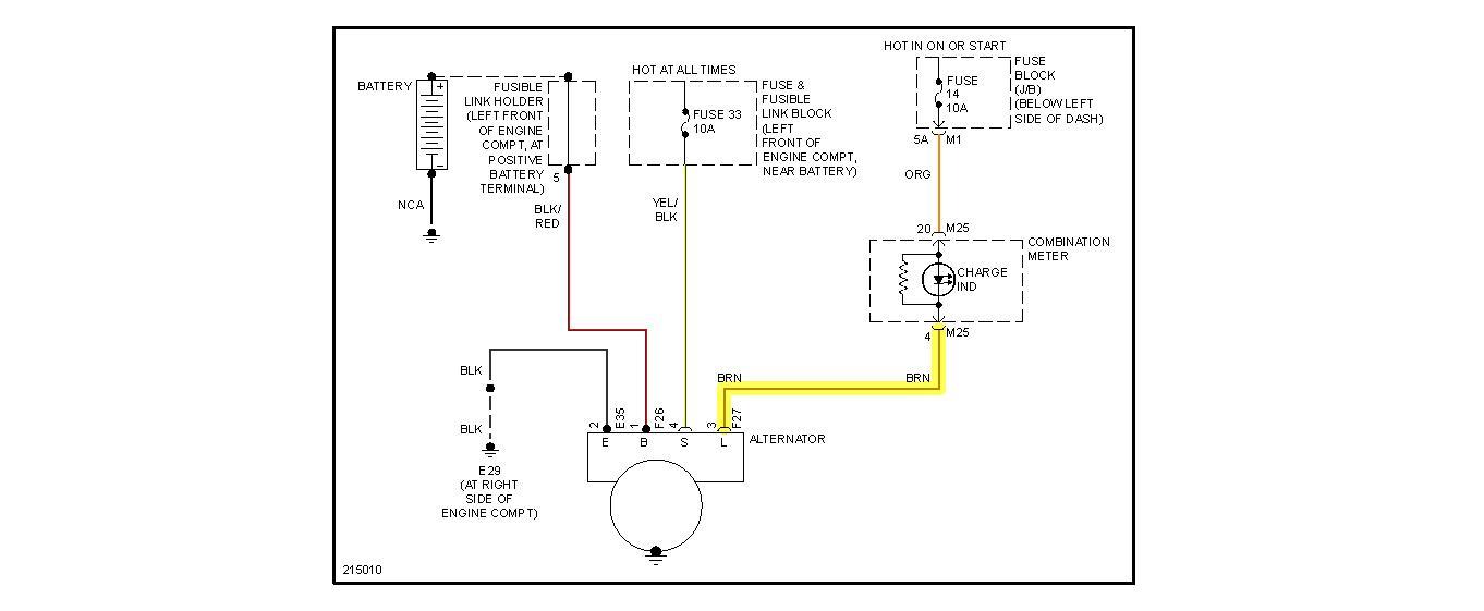 Alternator Charging System Problem: I Have The S Model