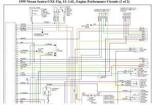 1998 nissan sentra gxe ignition wiring diagram  24h schemes