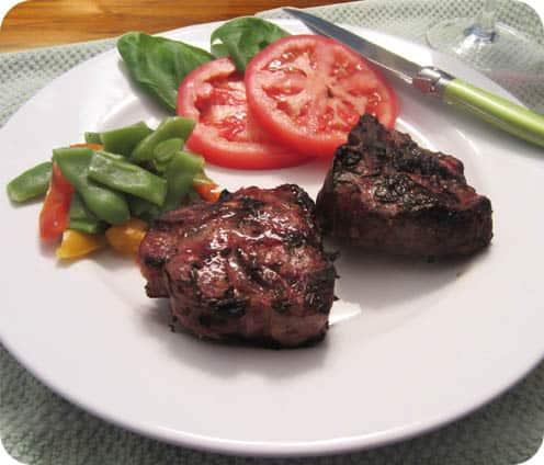 Grilled Rosemary and Basil Lamb Chops