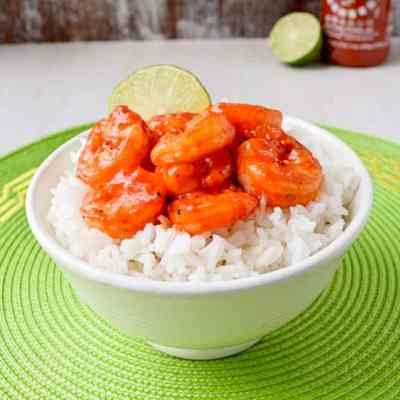 sweet-spicy-sriracha-shrimp by kitchen gidget