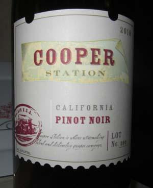 2010 Cooper Station Pinot Noir