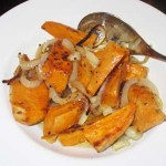 A Savory Sweet Potato Side Dish
