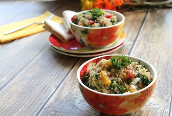 Quinoa Tabouli 1 | 2CookinMamas