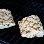 Buttery Mahi on the Barbie!
