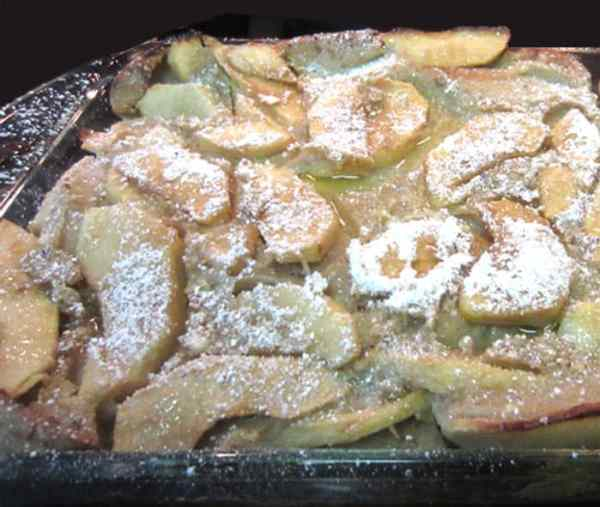 Gluten-free Dutch Apple Pancake 2 | 2 Cookin Mamas