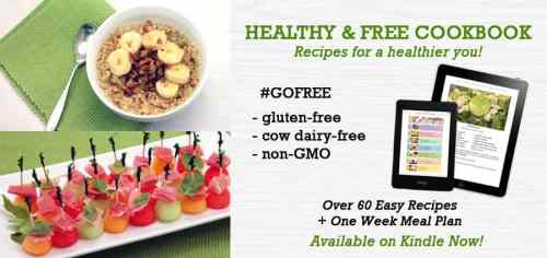 Healthy and Free Cookbook | 2 Cookin Mamas