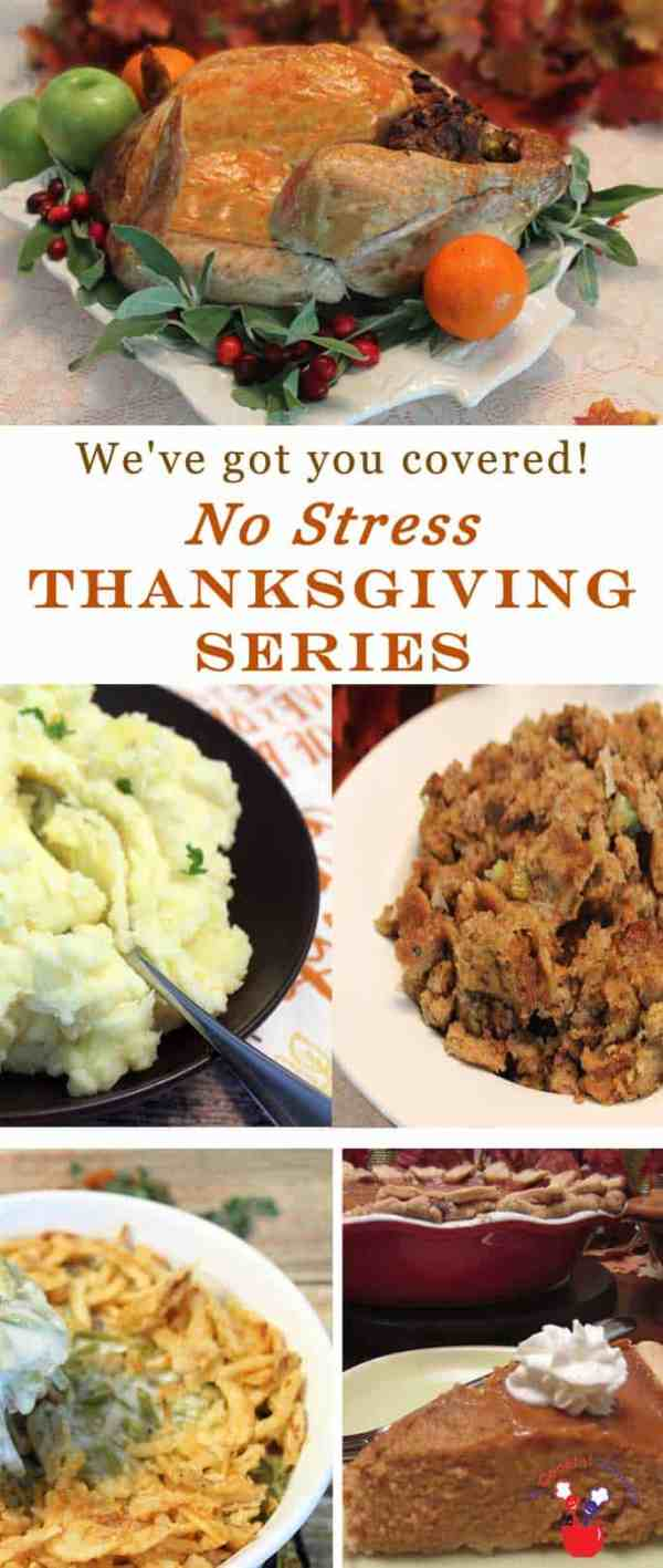 No Stress Thanksgiving Series | 2 Cookin Mamas Our no stress Thanksgiving series includes a step by step planner & all the delicious recipes you'll need for a worry-free Thanksgiving Day.