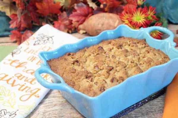 Sweet Potato Casserole 1 | 2 Cookin Mamas