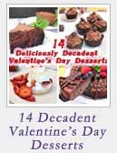 14 Decadent Valentines Day Desserts | 2 Cookin Mamas
