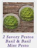 2 Savory Pestos
