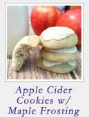 Apple Cider Cookies | 2 Cookin Mamas