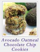 Avocado Oatmeal Chocolate Chip Cookies | 2 Cookin Mamas