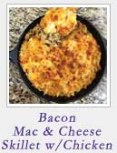 Bacon Mac and Cheese Skillet | 2 Cookin Mamas