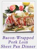 Bacon Wrapped Pork Loin | 2 Cookin Mamas