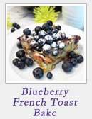 Blueberry French Toast Bake | 2 Cookin Mamas
