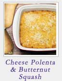 Cheese Polenta and Butternut Squash Casserole