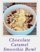 Chocolate Caramel Smoothie Bowl