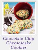 Chocolate Chip Cheesecake Cookies | 2 Cookin Mamas