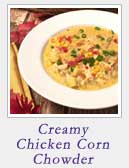 Creamy Chicken Corn Chowder | 2 Cookin Mamas