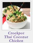 Crockpot Thai Coconut Chicken