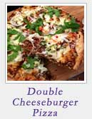 Double Cheeseburger Pizza