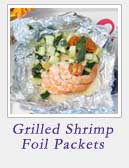 Grilled Shrimp Foil Packets | 2 Cookin Mamas