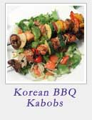 Korean BBQ Kabobs