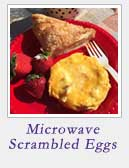 Microwave Scrambled Eggs | 2 Cookin Mamas