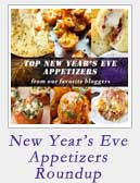 New Years Eve Appetizers Roundup