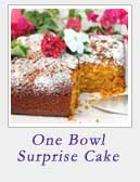 One Bowl Surprise Cake | 2 Cookin Mamas
