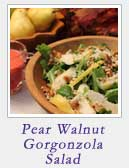 Pear Walnut Gorgonzola Salad