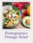 Pomegranate Orange Salad | 2 Cookin Mamas