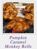 Pumpkin Caramel Monkey Rolls